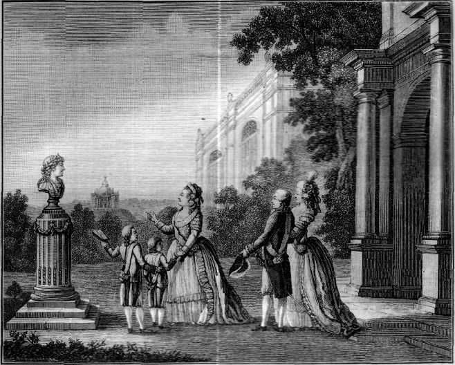 Екатерина II с внуками poslednjajasluchajnostxnarusskomprestole-2