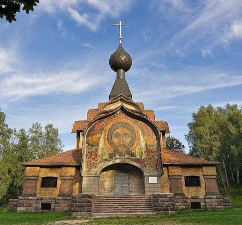 Талашкино  Спас Church-of-the-Holy-Spirit